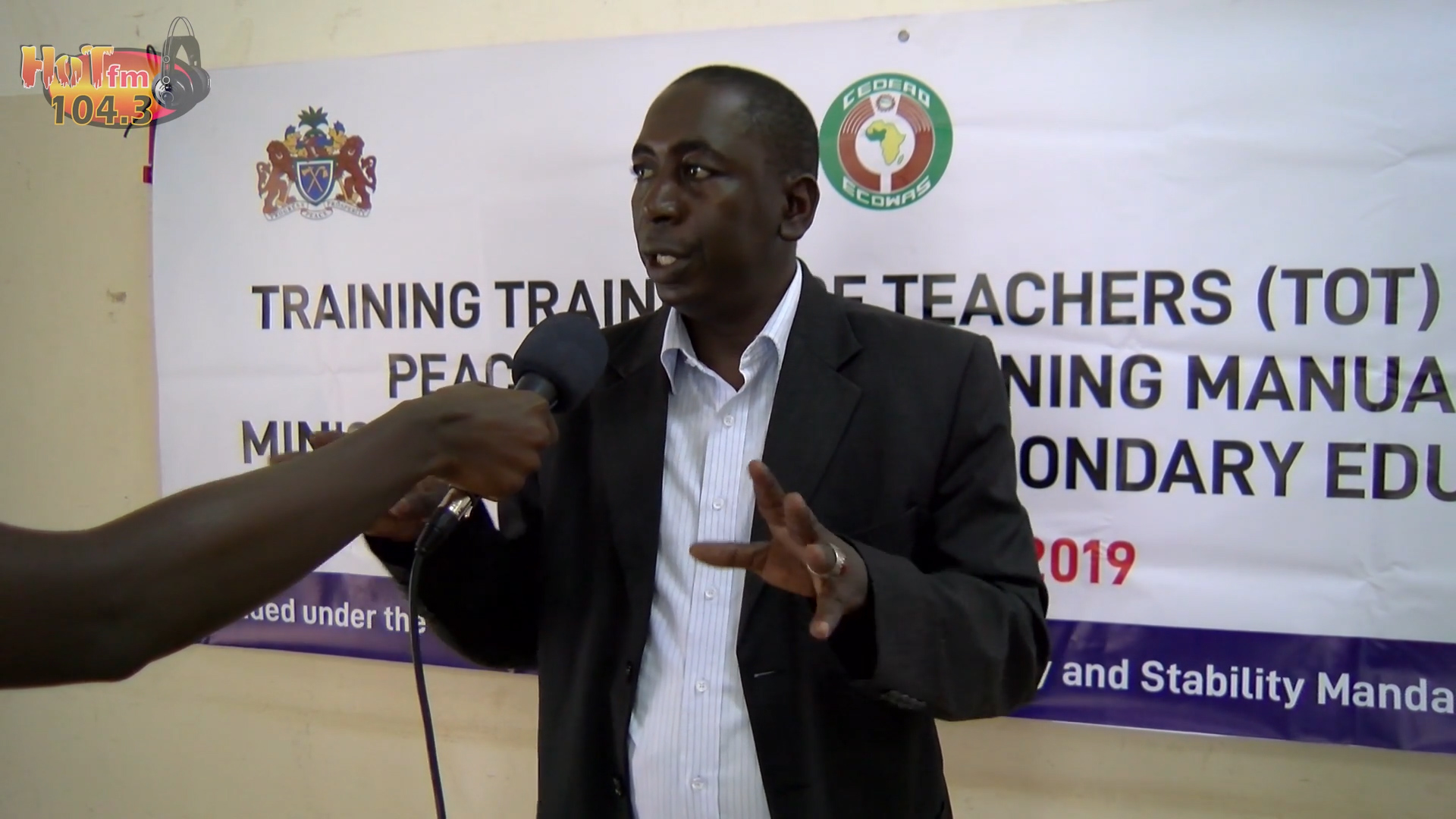 MoBSE Training of Traners of Teachers (ToT) on the Peace building Training Manual